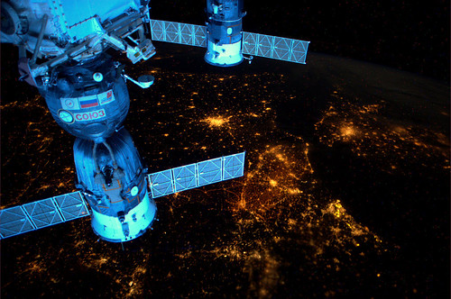 Europe and its nightlights, seen from the ISS by europeanspaceagency