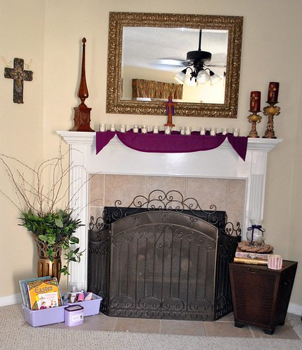 Lent decorating ideas for Be home decor