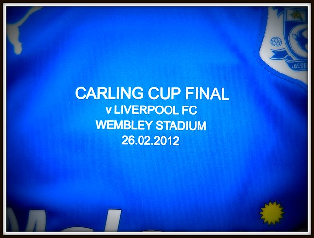 Carling Cup Final 2012-Cardiff City v Liverpool prematch