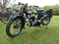 Vintage BSA Motorcycle