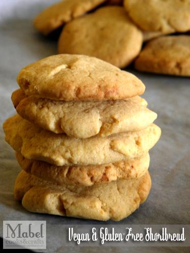 Vegan & Gluten-Free Shortbread