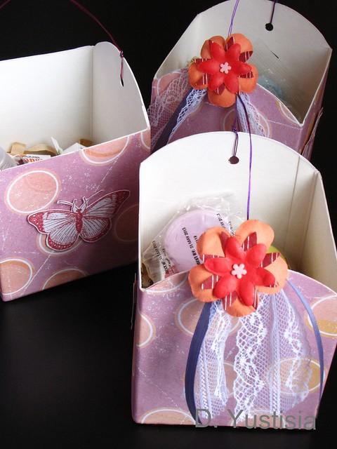 Milk carton  goodie bags