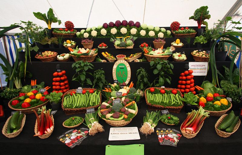 Gold Winner Veg Display