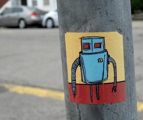 I Love Robots by dyannaanfang