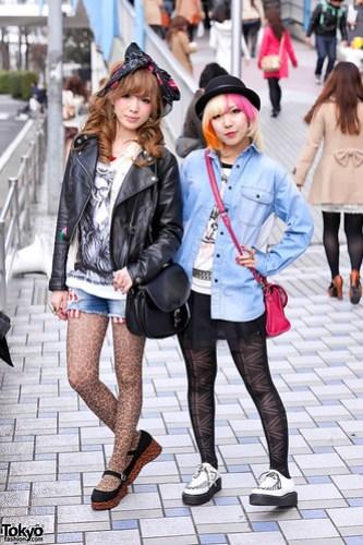 Pink Hair x Leopard Girl