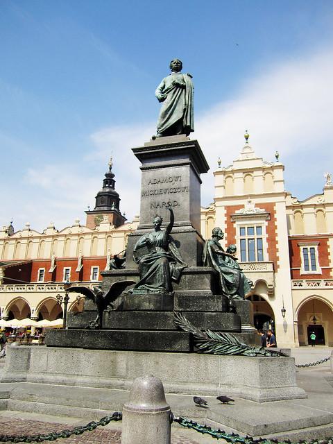 Adam Mickiewicz Monument, Kraków.