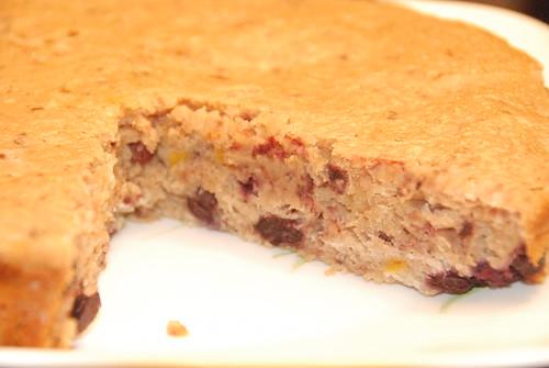 Yogurt and Berry Muffin cake