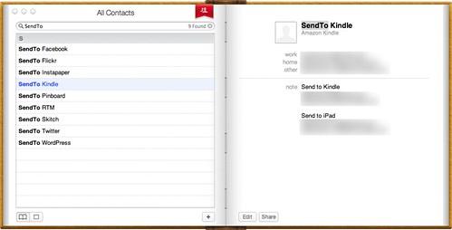 SendTo Kindle
