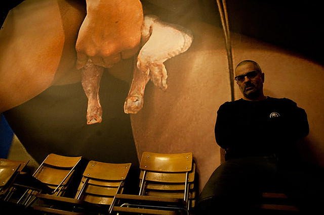 Alexei Plutser-Sarno. Cabaret Voltaire, Zurich. Feb. 2012