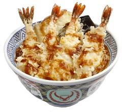 Yoshinoya Shrimp Tempura Bowl
