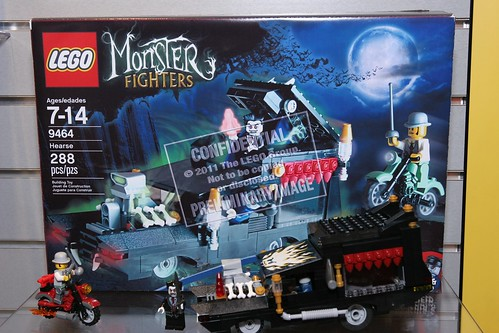 LEGO Monster Fighters 9464 The Vampire Hearse