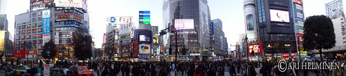 Shibuya panorama