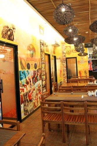 Inside Piyesta KTV and Restobar