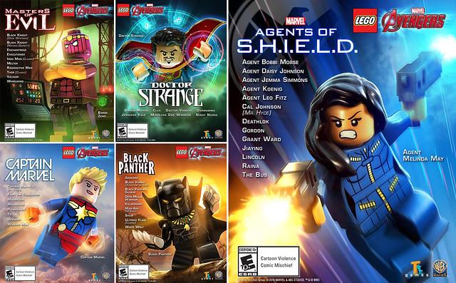 Pack DLC LEGO Marvel Avengers Agents of SHIELD