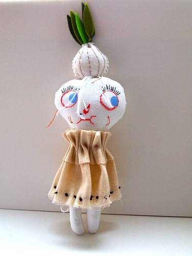 Garlic girl