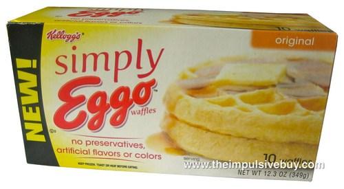 Kellogg's Simply Eggo Waffles
