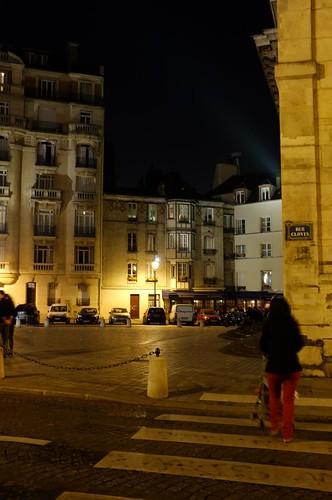 latin quarter at night