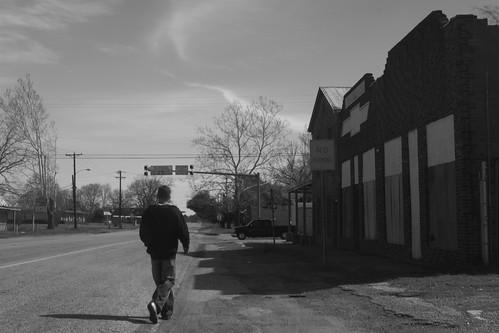 Main Street, Wells, Texas