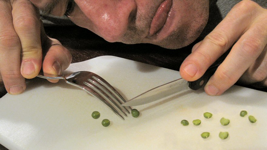 Splitting peas