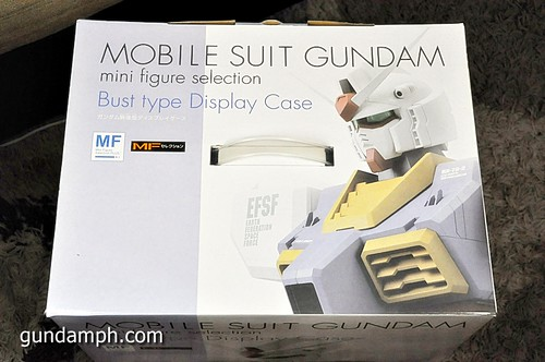 MSG RX-78-2 Bust Type Display Case (Mobile Suit Gundam) (3)