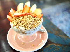Yoghurt with granola, Strangers' Reunion, Kampong Bahru Road
