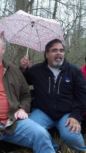 A Man & His Umbrella