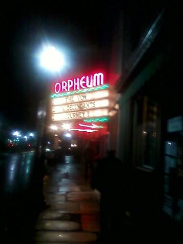 orpheum marquee