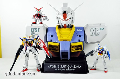 MSG RX-78-2 Bust Type Display Case (Mobile Suit Gundam) (25)