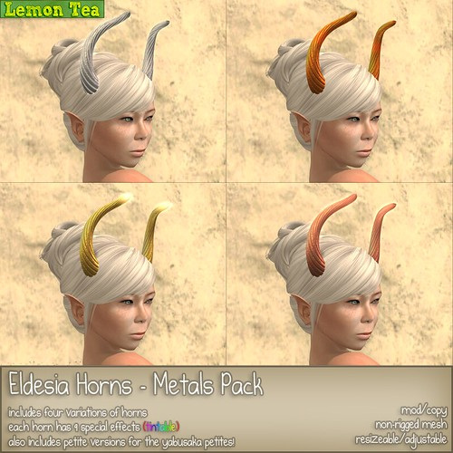 Eldesia Horns - Metals Pack