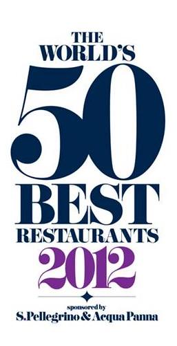 The World´s 50 Best Restaurants 2012 logo