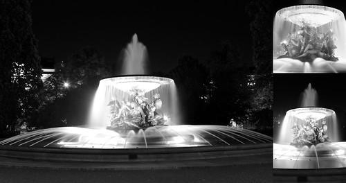 Stilles Wasser am Albertplatz