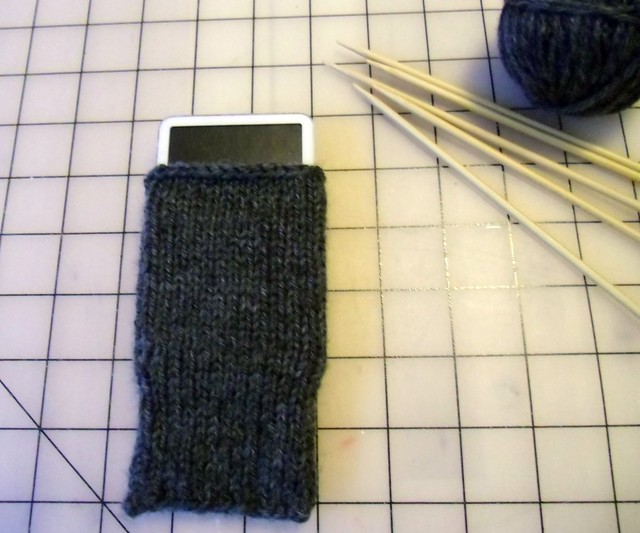 It's an iPod cozy!