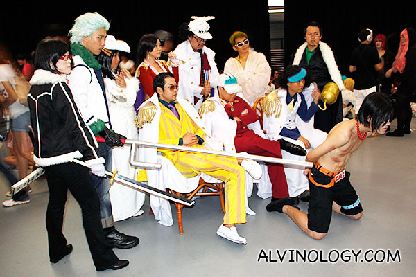 More characters from One Piece