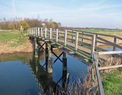 Vernatt's Drain and Two Plank Bridge, Spalding