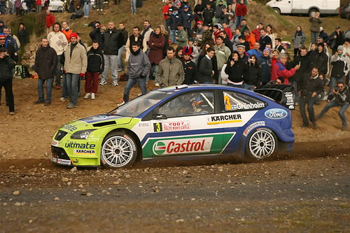 Ford Focus WRC - Montecarlo 2007