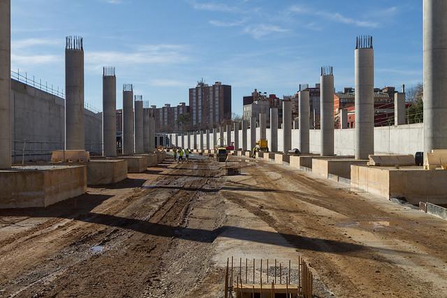 Zona futura estación de Sant Andreu - Sur - 15-02-12