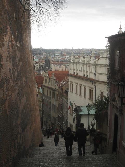 Down from Hradčany