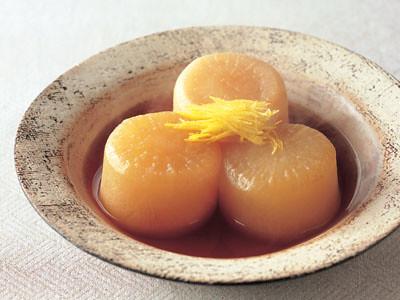 Slow-Cooked Daikon Ajinomoto
