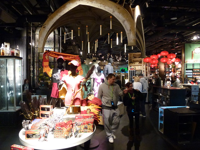 Gift Shop: Harry Potter Tour Warner Bros Studios Leavesden London