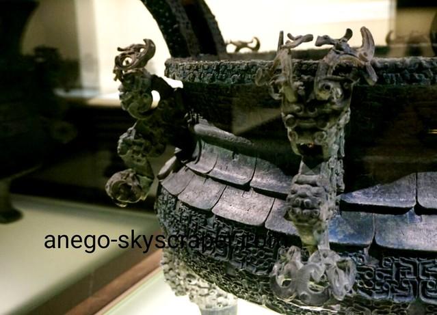 上海博物館 龍がこんにちは