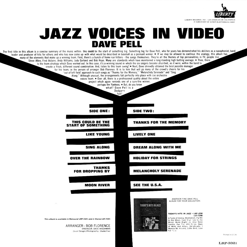 Dave Pell - Jazz Voices in Video