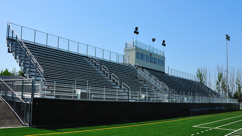 High School Bleachers by JoGo Equipment