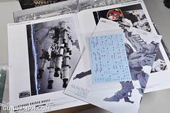 Kotobukiya White Glint & V.O.B Movie Color Version Unboxing Review (13)
