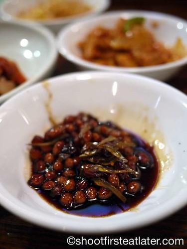 Han Bat Restaurant - peanuts and dried anchovies