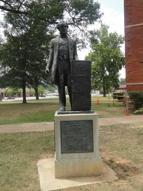William Jennings Bryan Statue, Dayton TN