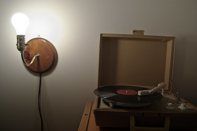 Record Player Light | 052