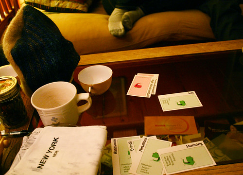 Apples to apples and tea