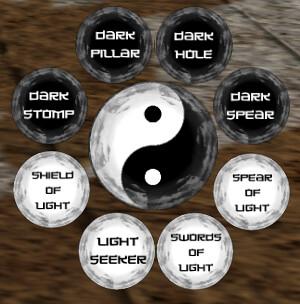 Solarium Warrior of Zen : Light and Darkness Hud V1.0