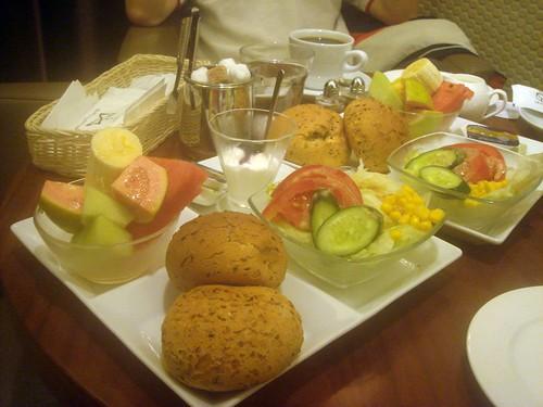 米朗琪_水果早餐2