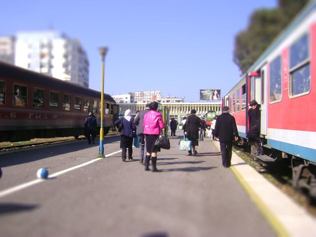 Train station Durres
